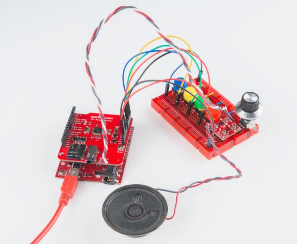 Circuit hookup example
