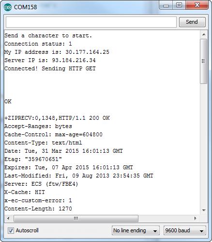 GPRS example
