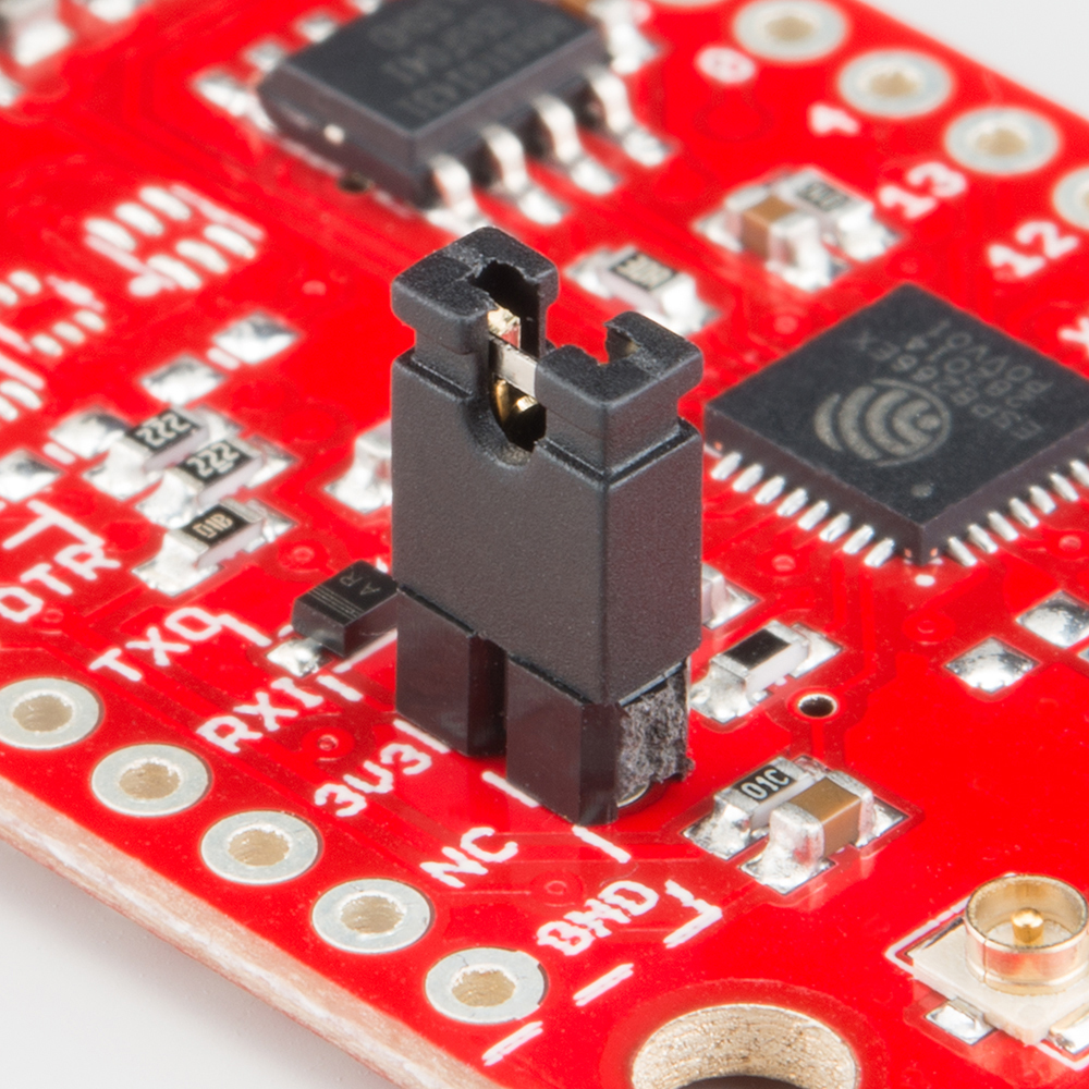 Esp8266 Thing Hookup Guide Circuit Classics Printed Board Kits Based On Classic Projects Dtr Jumper Installed