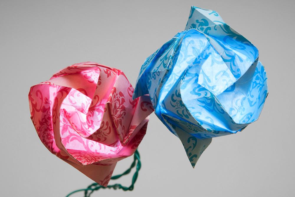 Origami paper circuits learnsparkfun origami paper circuits mightylinksfo