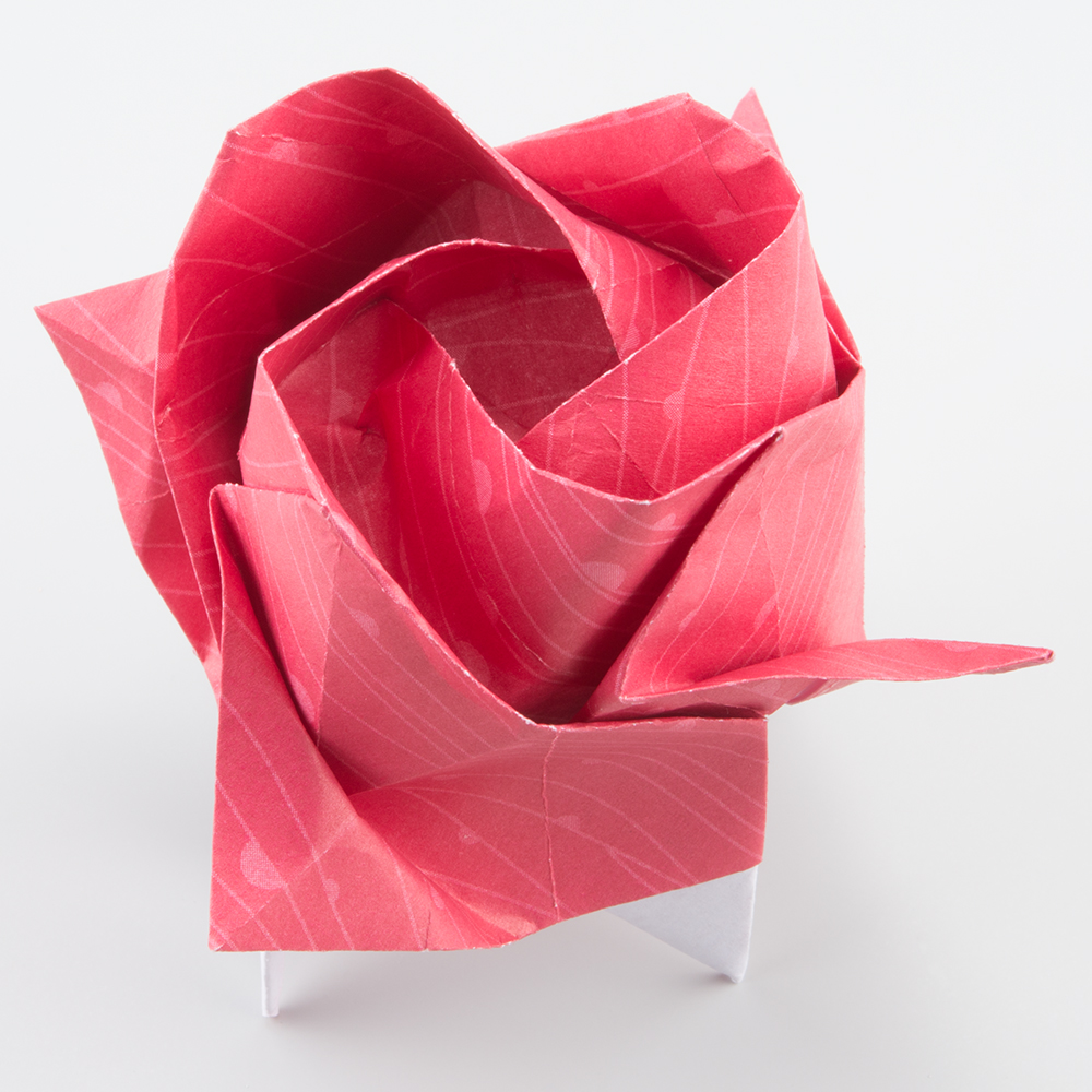 Wedding Origami Rose Square Place Cards x 50. £42.00, via Etsy ... | 1000x1000