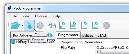 Program button
