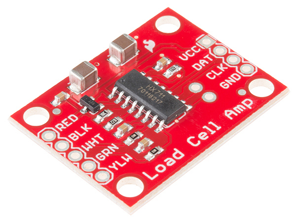 Sparkfun's HX711 load cell amplifier breakout board