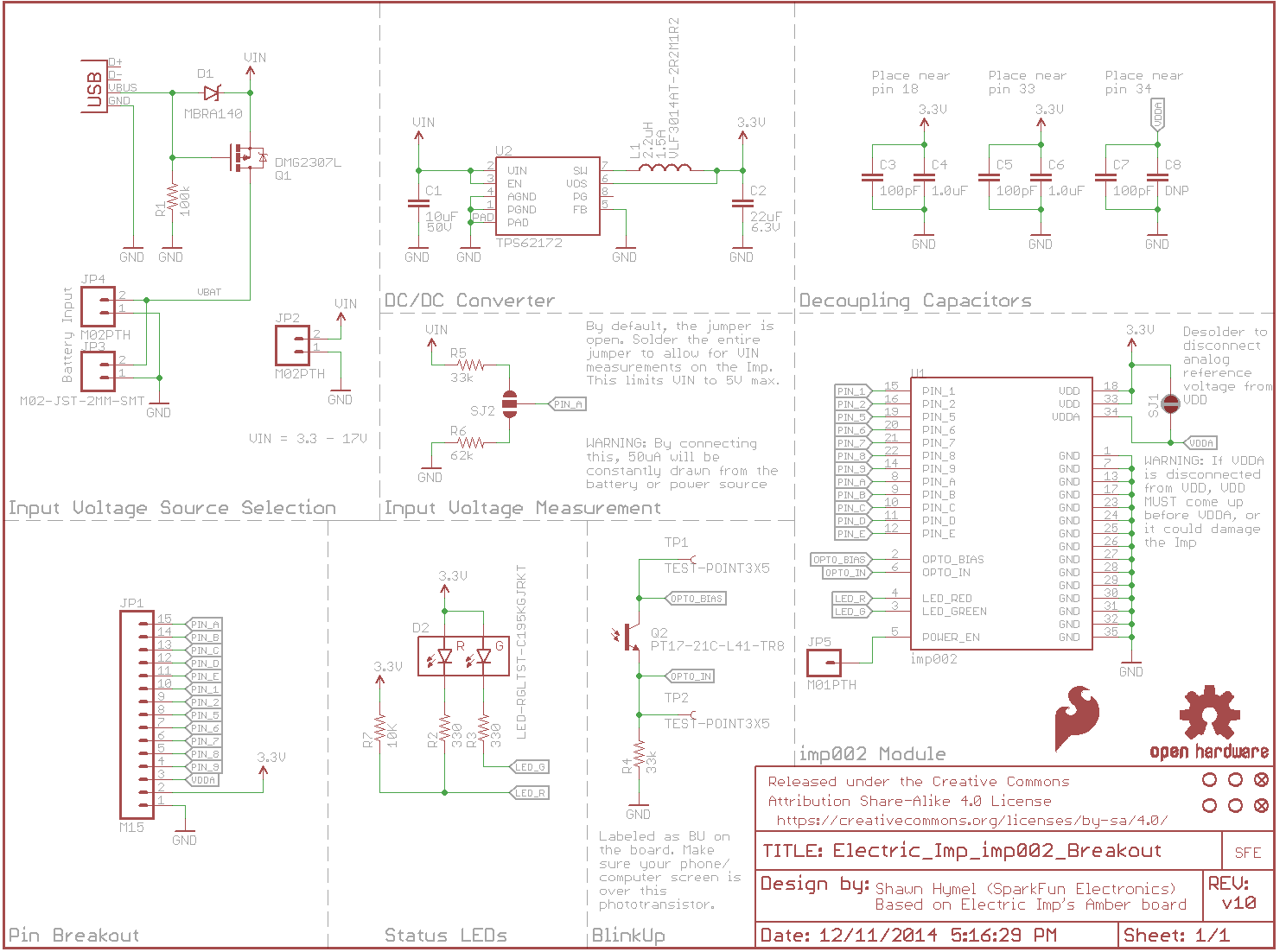 Electric_Imp_imp002_Breakout_schematic electric imp breakout hookup guide learn sparkfun com