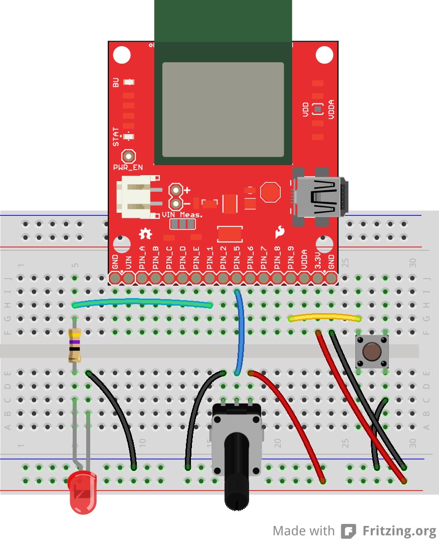 Electric Imp Breakout Hookup Guide Http Circuitdiagramorg Automaticnimhbatterychargercircuithtml Circuit Example 1 Fritzing Diagram