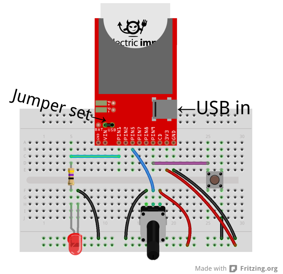tutorials electric breakout hookup guide example control request