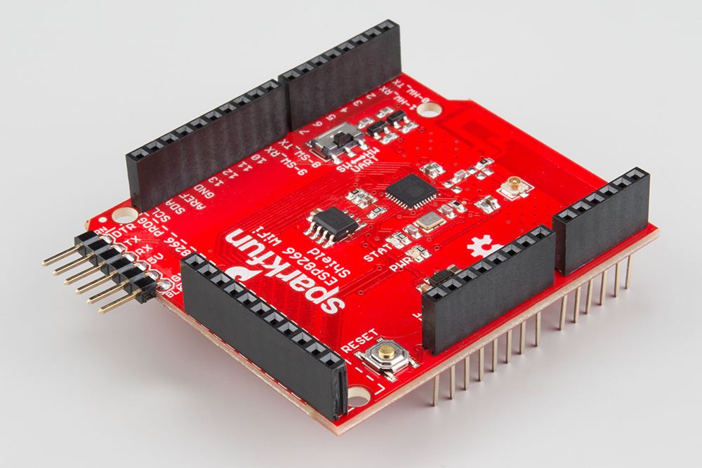 ESP8266 WiFi Shield Hookup Guide - learn sparkfun com