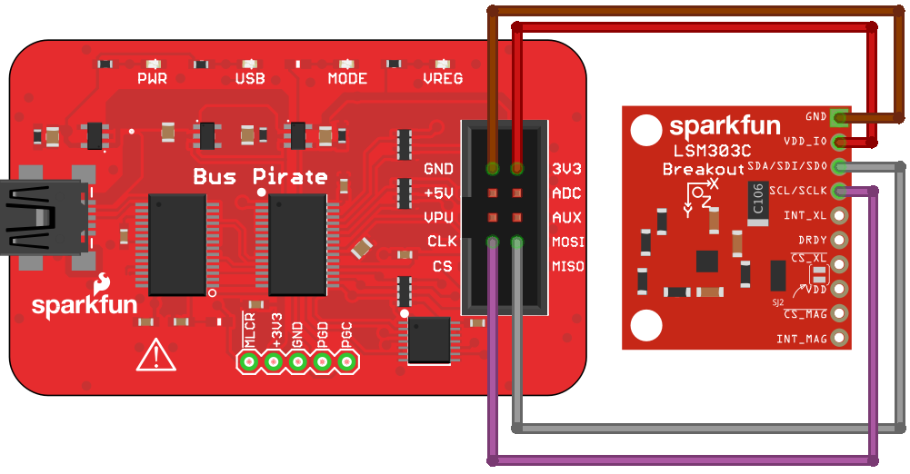 Bus Pirate v3 6a Hookup Guide - learn sparkfun com