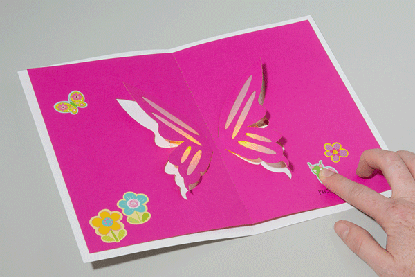 LED Butterfly Pop Up Card - learn.sparkfun.com