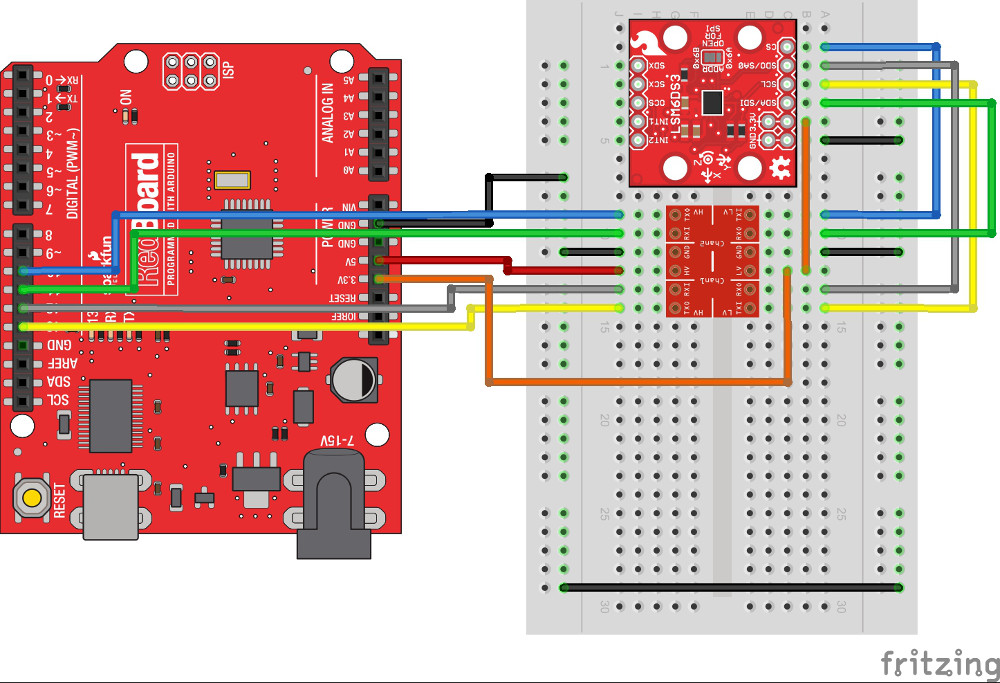 LSM6DS3 Breakout Hookup Guide - learn sparkfun com