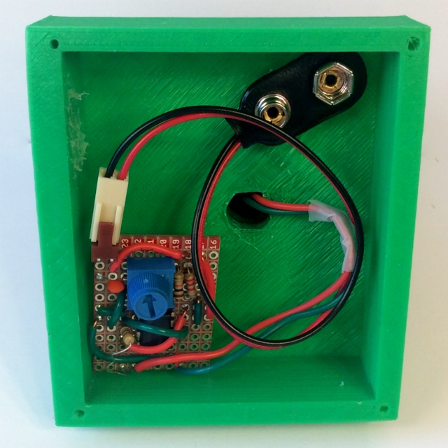 Squirrel Circuit board installed