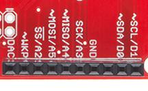 10-pin digital i/o header