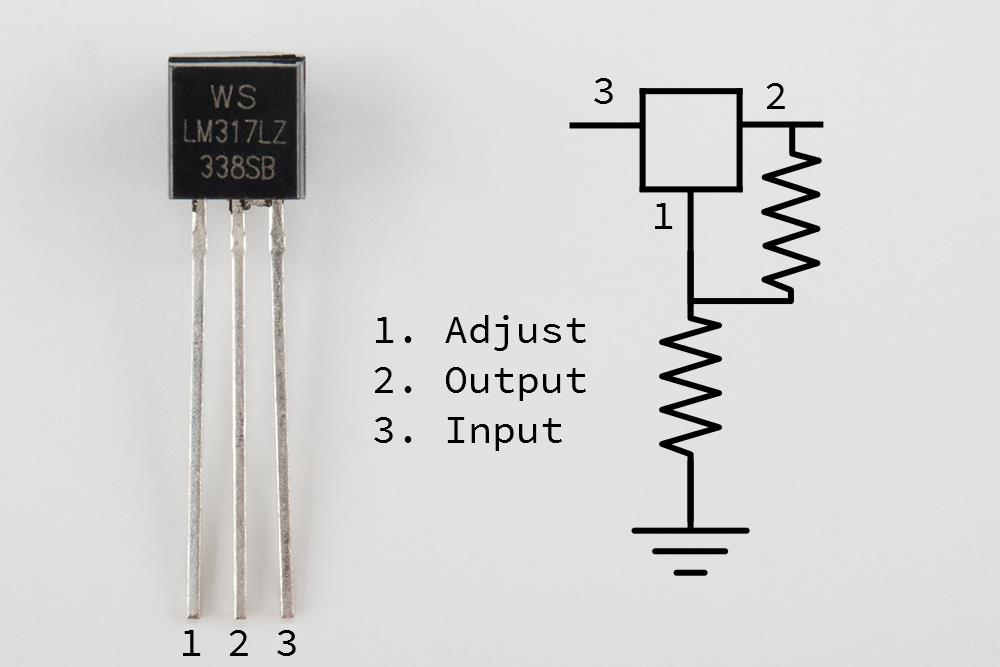 Kết quả hình ảnh cho lm317L transistor