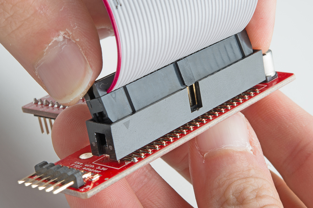 Preassembled 40-pin Pi Wedge Hookup Guide - learn sparkfun com