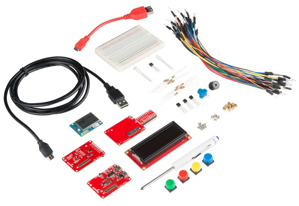 Inventor's Kit for Intel Edison components