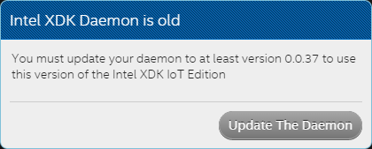 What do you mean my XDK daemon is old?