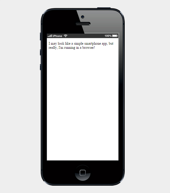 XDK Web App Emulator