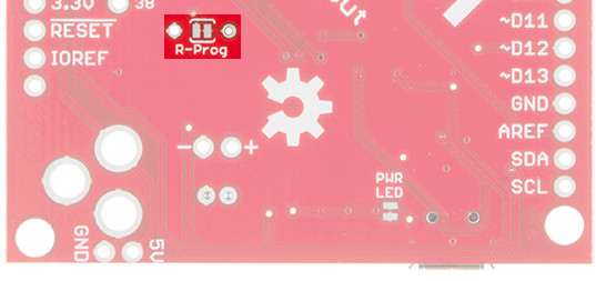 SAMD21 Mini/Dev Breakout Hookup Guide - learn sparkfun com