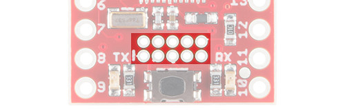 SAMD21 Mini Breakout cortex debug port