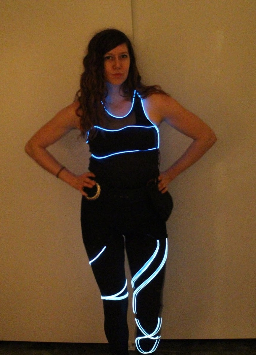 Sound Reactive EL Wire Costume - learn.sparkfun.com