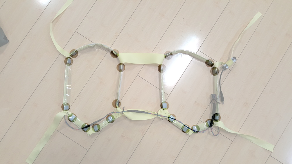 Prototype Wearable LED Dance Harness - learn.sparkfun.com
