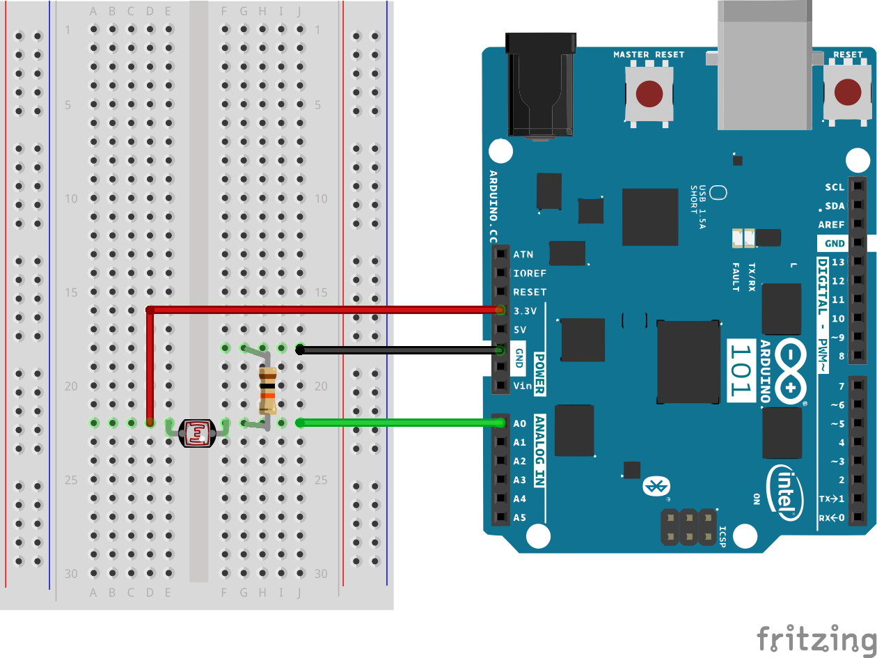 Arduino Photocell Wiring Diagram To Breadboard - Schematics Wiring ...