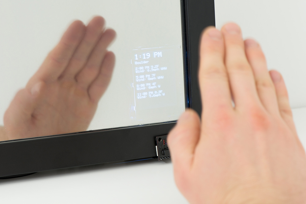 Interactive smart mirror learn sparkfun