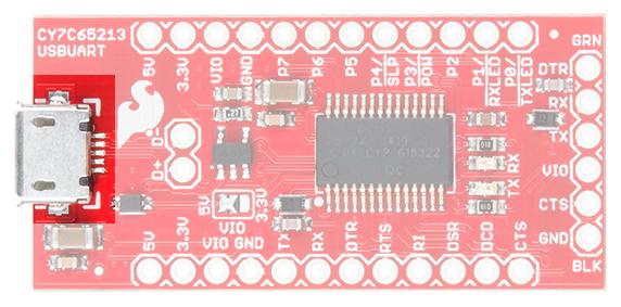 microB USB