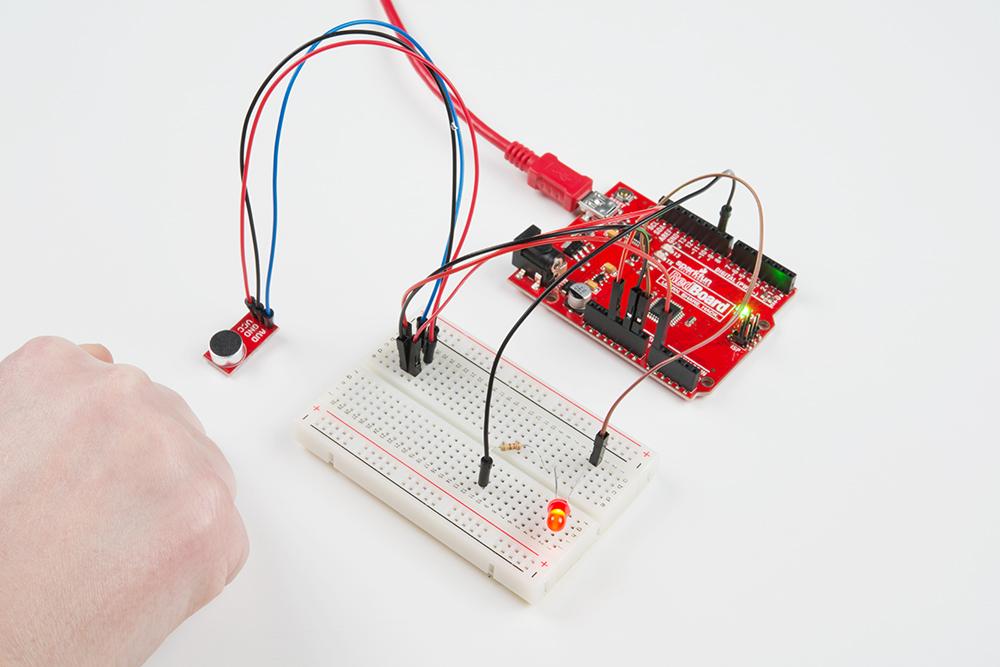 electret mic breakout board hookup guide learn sparkfun com alt text