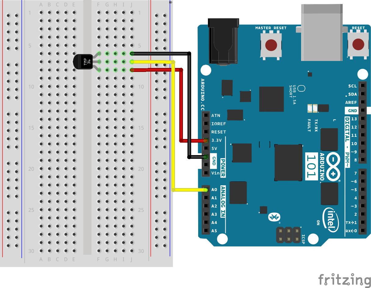 Sik Experiment Guide For The Arduino 101 Genuino Board Learn Pc Heat Monitor Circuit Piezoelectric Sensor Having A Hard Time Seeing Click On Wiring Diagram Closer Look