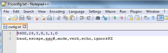 OpenLog Config File