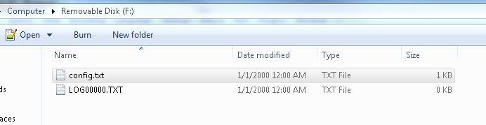 openlog files