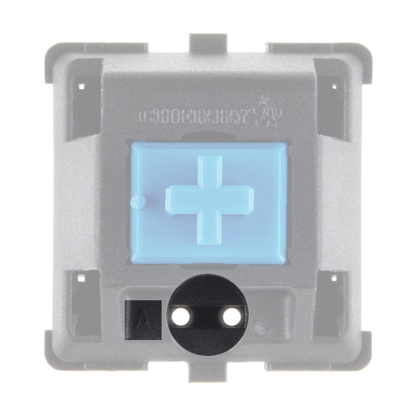 LED footprint in switch