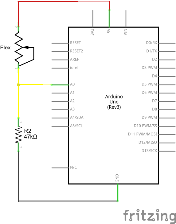 Example circuit schematic