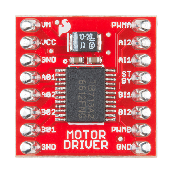 Motor Driver Top View