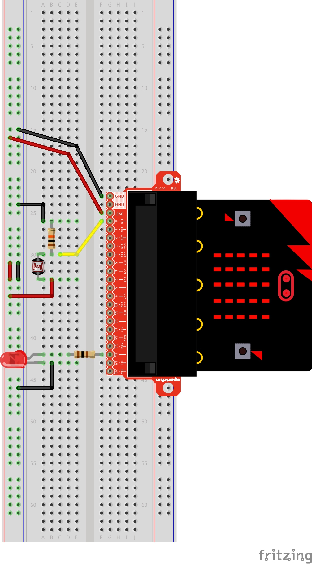 Getting Started With Micropython And The Sparkfun Inventors Kit For Filepotential Divider Circuit Diagramjpg Wikipedia Having A Hard Time Seeing Click On Wiring Diagram Closer Look
