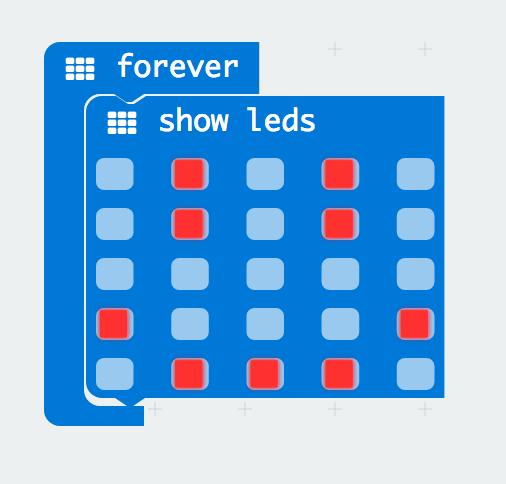 show leds block