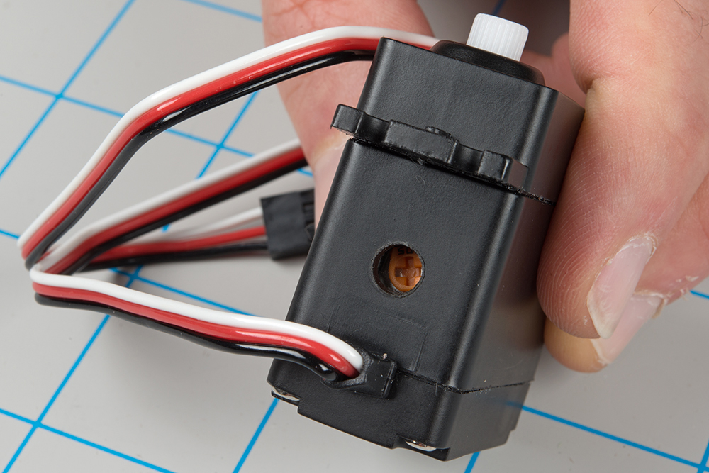 Continuous Rotation Servo Trigger Hookup Guide Learn