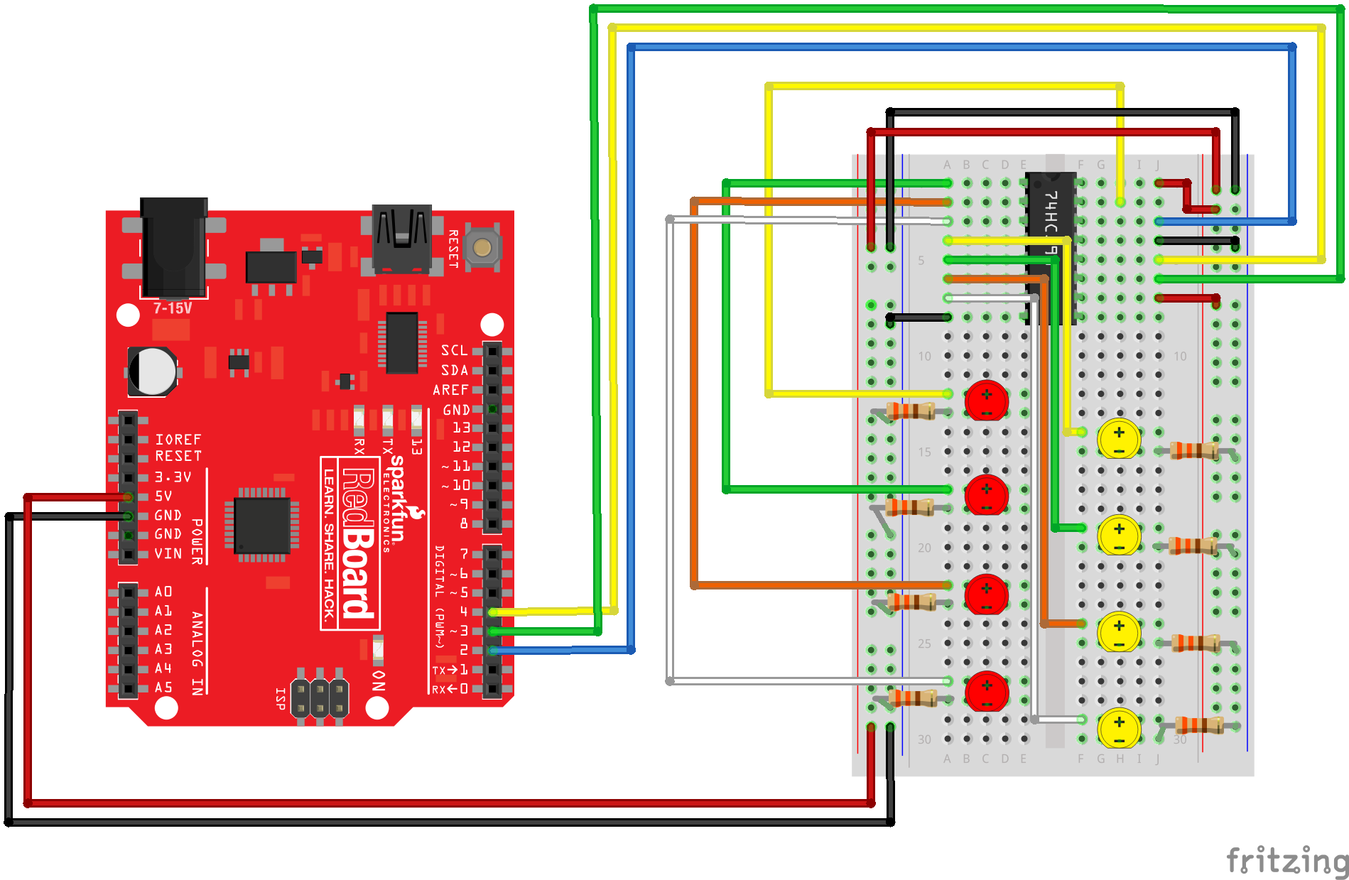 Enjoyable Sik Experiment Guide For Arduino V3 3 Learn Sparkfun Com Wiring Digital Resources Otenewoestevosnl