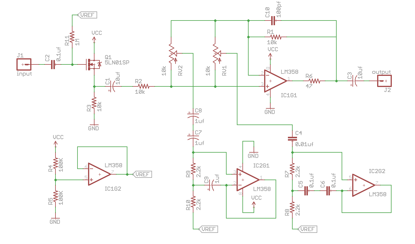 Media Electronic Circuit Schematics Guitar And Bass Effects