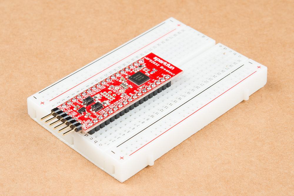 nRF52832 Breakout Board Hookup Guide - learn sparkfun com