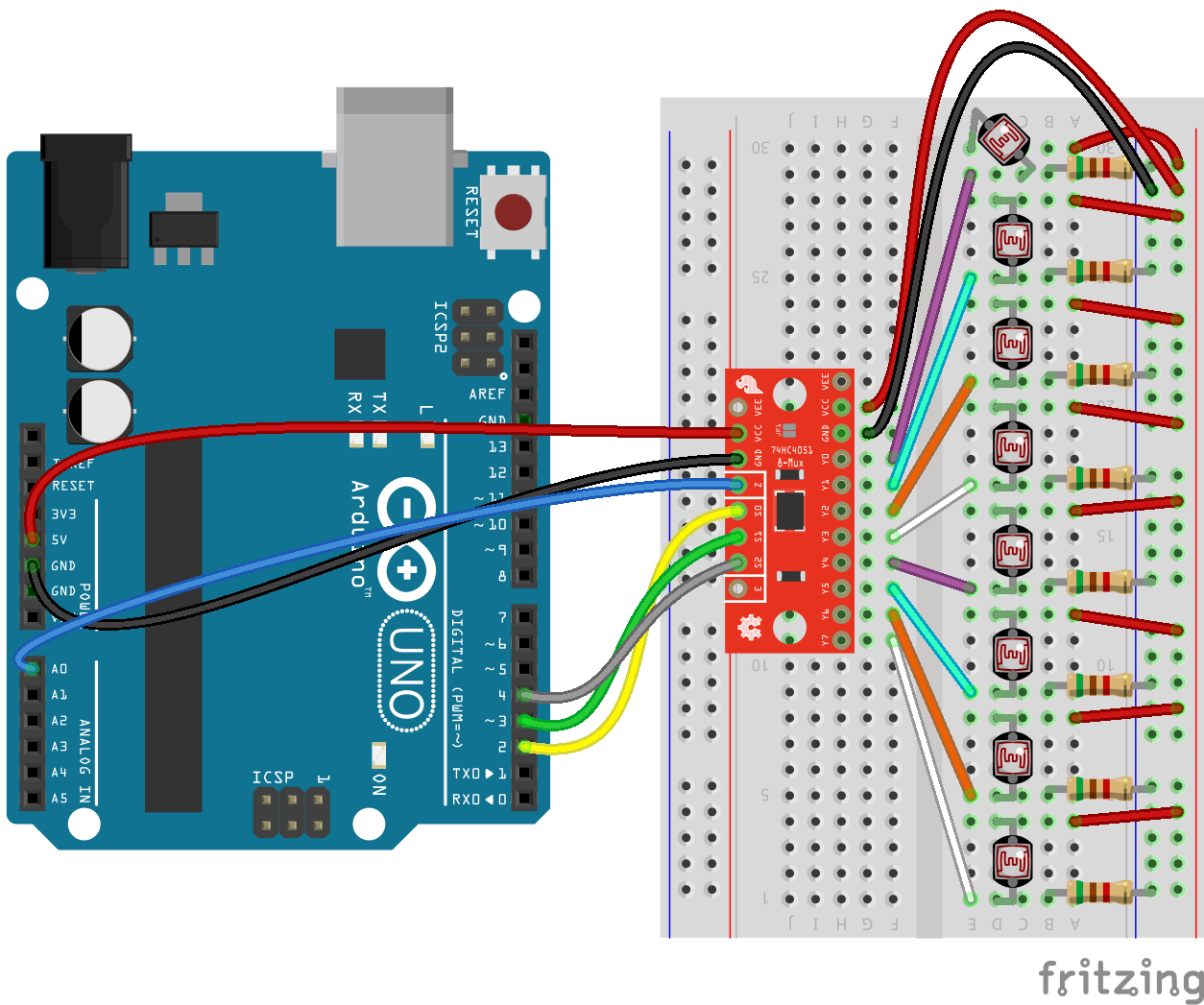 Multiplexer Breakout Hookup Guide - learn sparkfun com