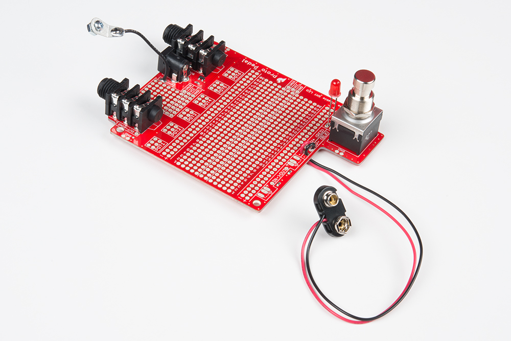 Proto Pedal Example: Programmable Digital Pedal - learn