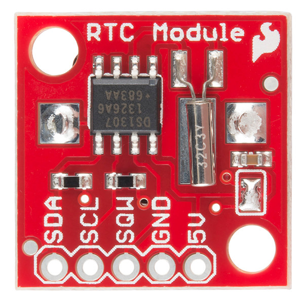 RTC Module Breakout top view