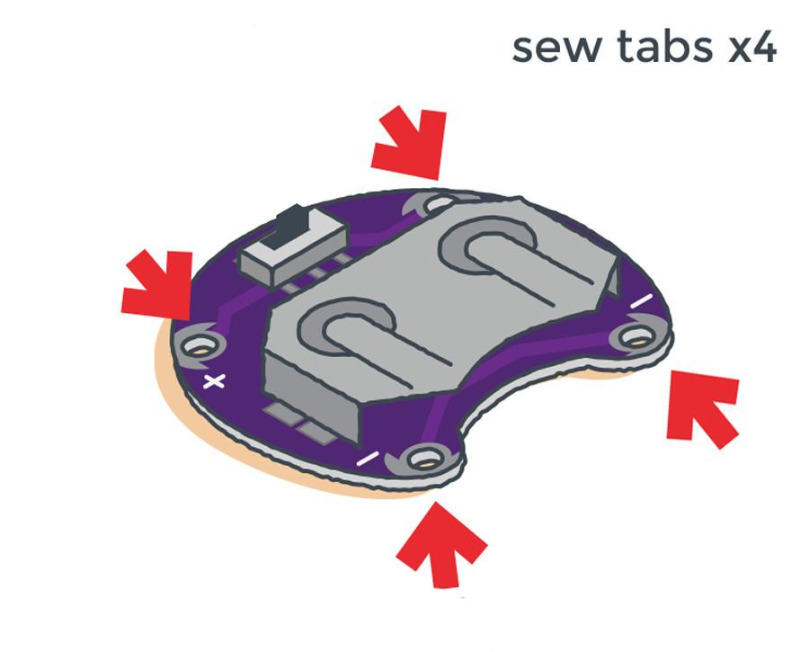 LilyPad Basics: E-Sewing - learn sparkfun com
