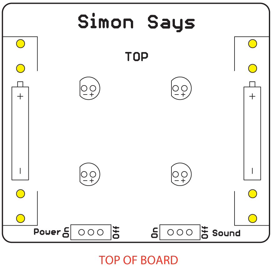 Simon Says Assembly Guide Learnsparkfun