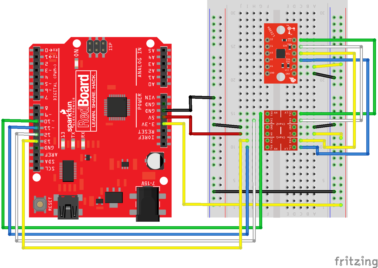 LIS3DH Hookup Guide - learn sparkfun com