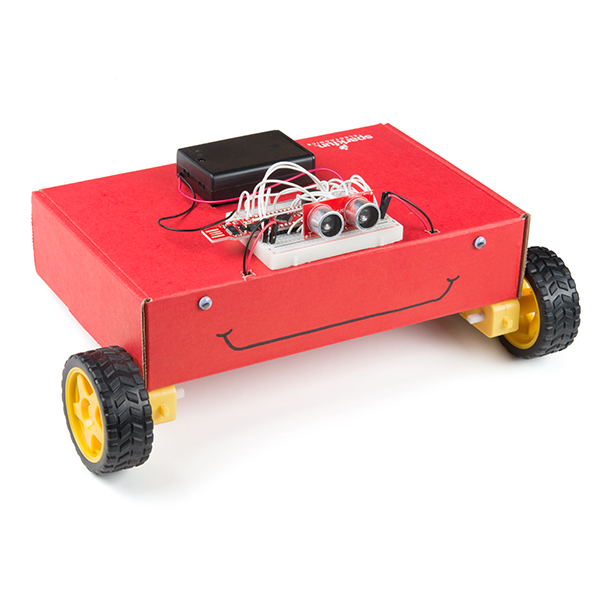 Completed robot chassis