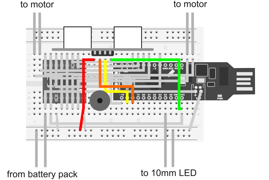 Red Box Robot Hookup Guide - learn.sparkfun.com | Red Box Wiring Diagram |  | Sparkfun Learn - SparkFun Electronics