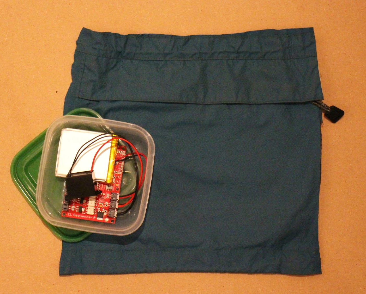 EL Wire Light-Up Dog Harness - learn.sparkfun.com